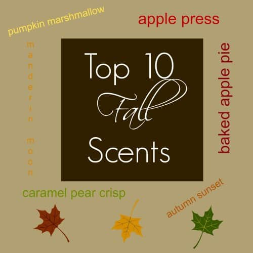 Top 10 Fall Scents