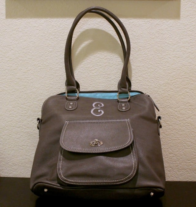 InitialsInc Grey Satchel2