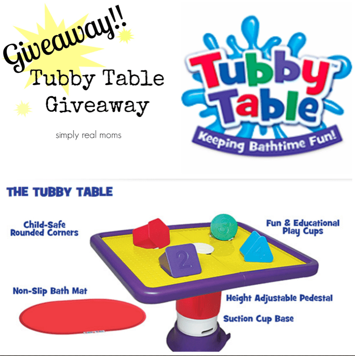 Tubby Table Giveaway!