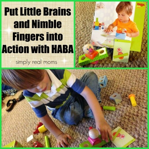 Put Little Brains and Nimble Fingers into Action with HABA