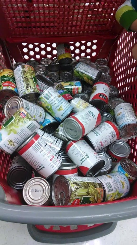 Shopping for Cans
