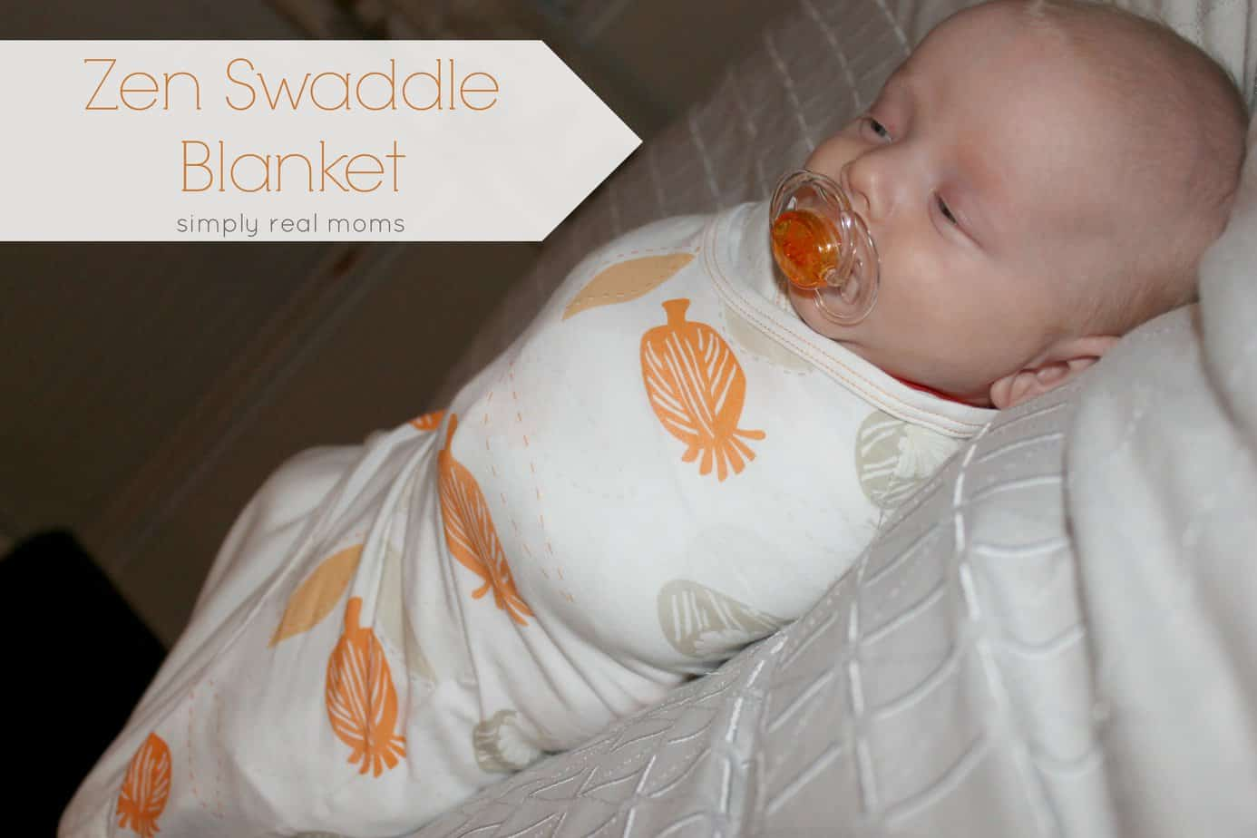 Zen Swaddle Blanket From Nested Bean 1
