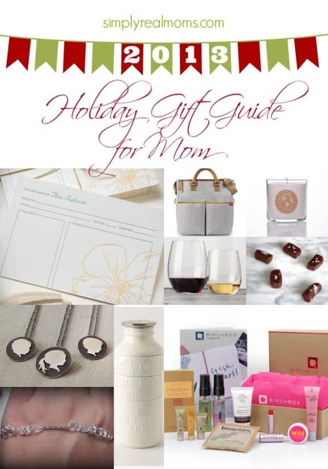 2013 holiday gift guide gifts for moms Christmas ideas for your mom