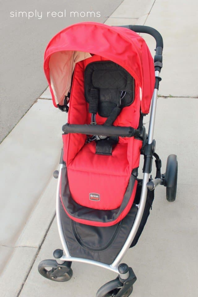 Britax B-Ready Front View