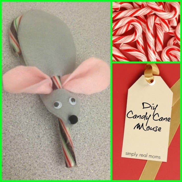 DIY Candy Cane Mouse