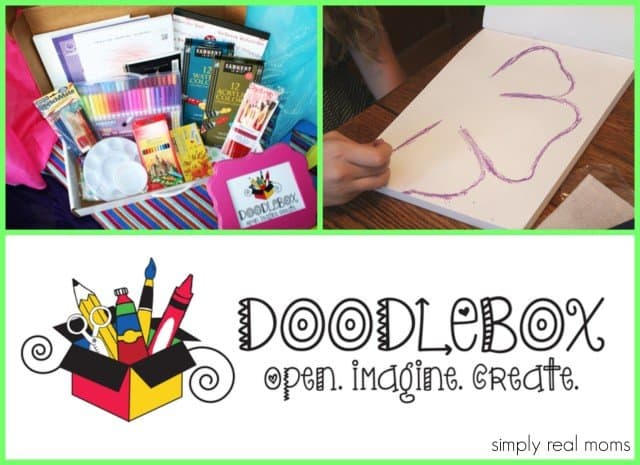 DoodleBox art kits for children of all ages-Even Teenagers