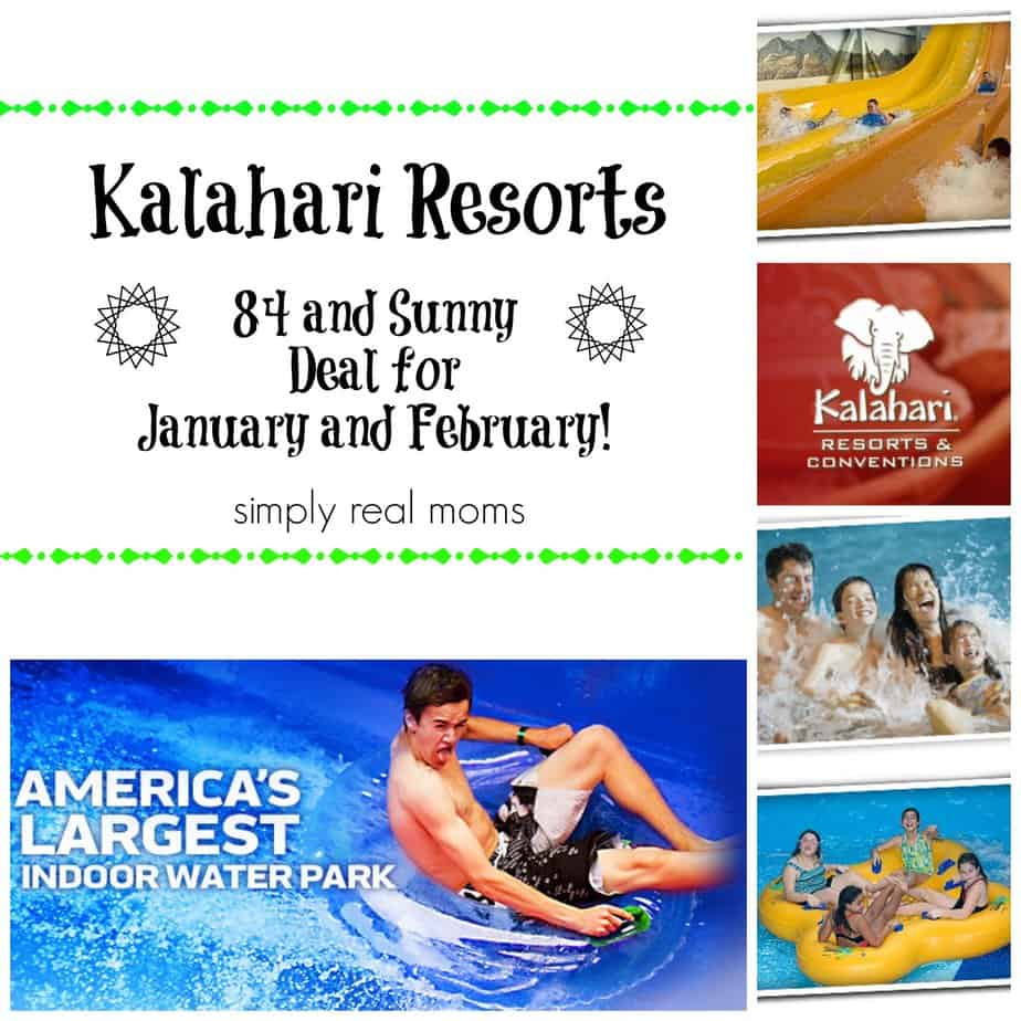 Getaway Deal Alert-Kalahari Waterpark Resorts-Where it's Always 84 & Sunny! 1