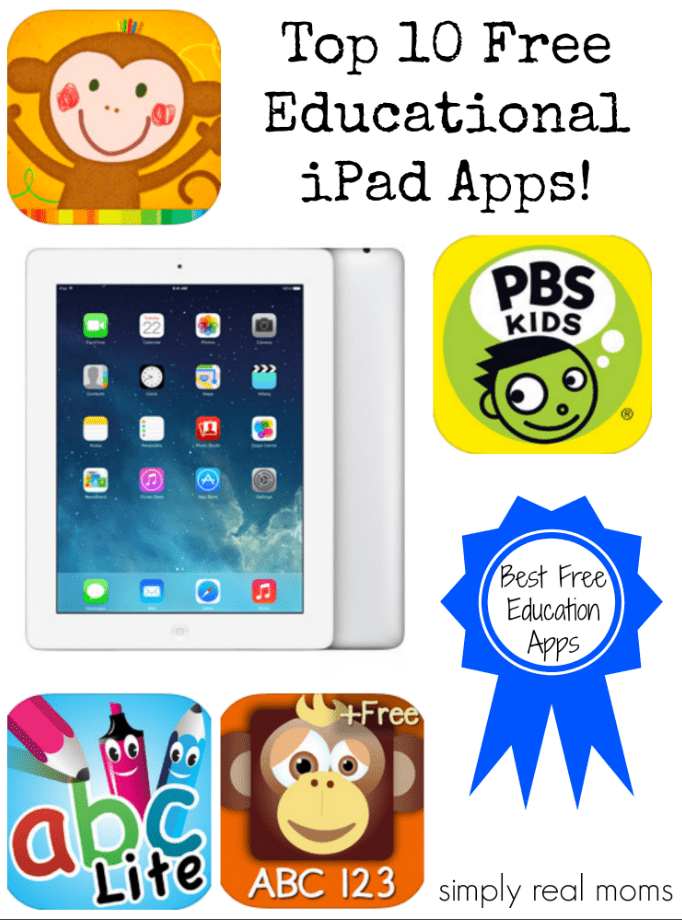 The Top 10 Ipad Apps For Special >> Top 10 Free Educational Ipad Apps