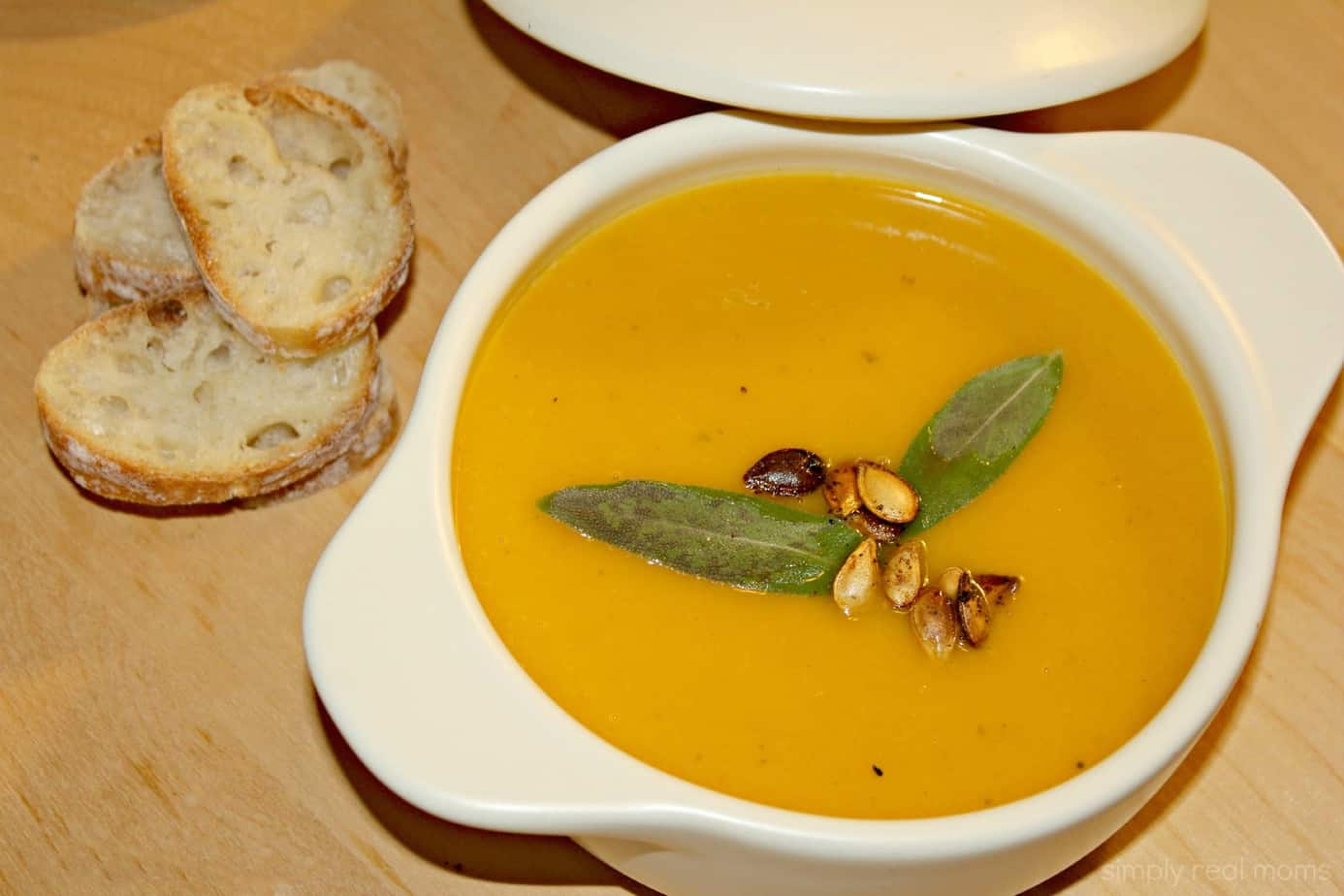 Roasted Butternut Squash Soup 3