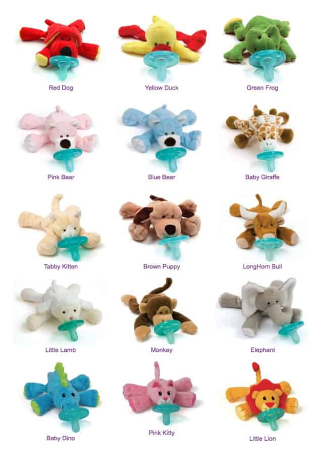 WubbaNub Pacifier Selection