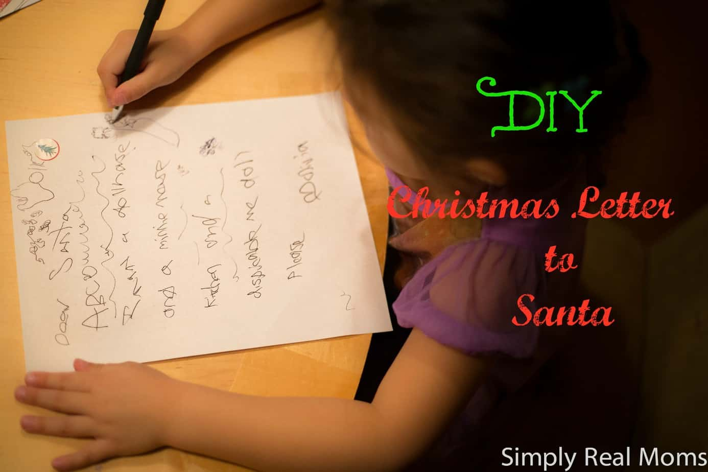 DIY Santa Letter for Kids 4