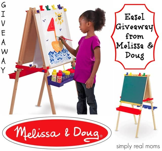 Easel giveaway from Melissa and Doug