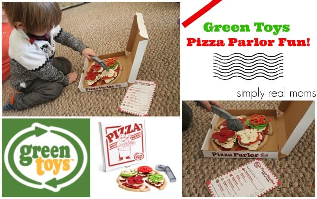 Green Toys Pizza Parlor Fun with Simply Real Moms