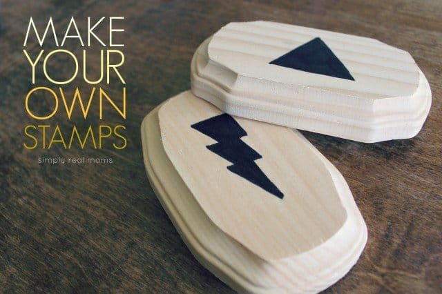 Simply Made: Make Your Own Stamps - Simply Real Moms