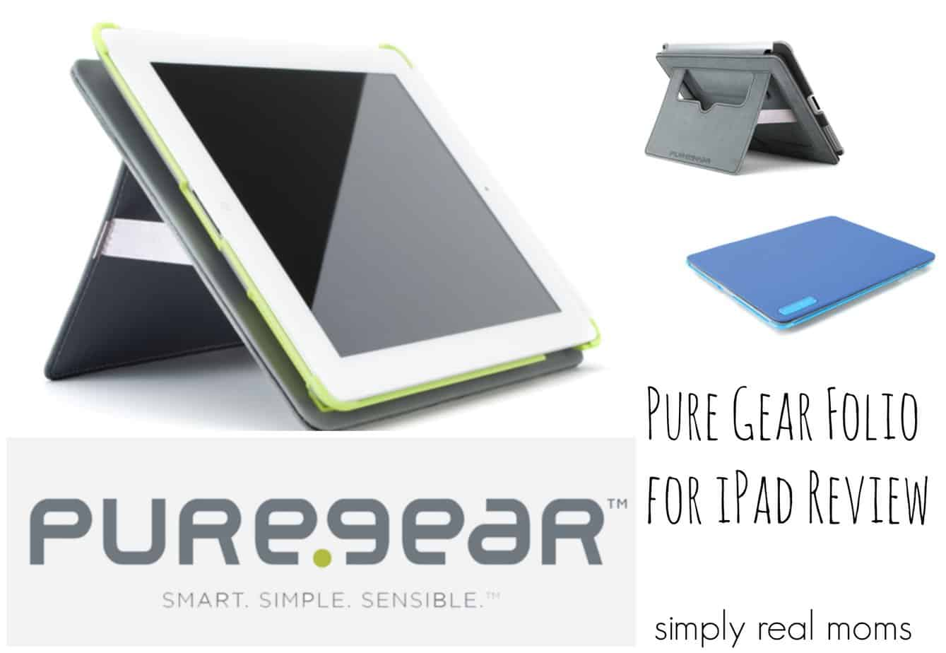 PureGear iPad Folio Kickstand Case Review 1