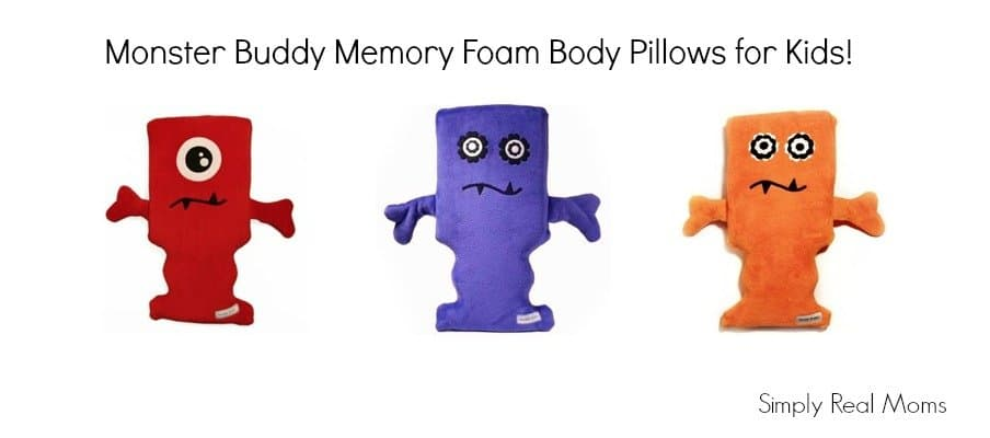 Monster Buddy Memory Foam Body Pillows for Kids 9