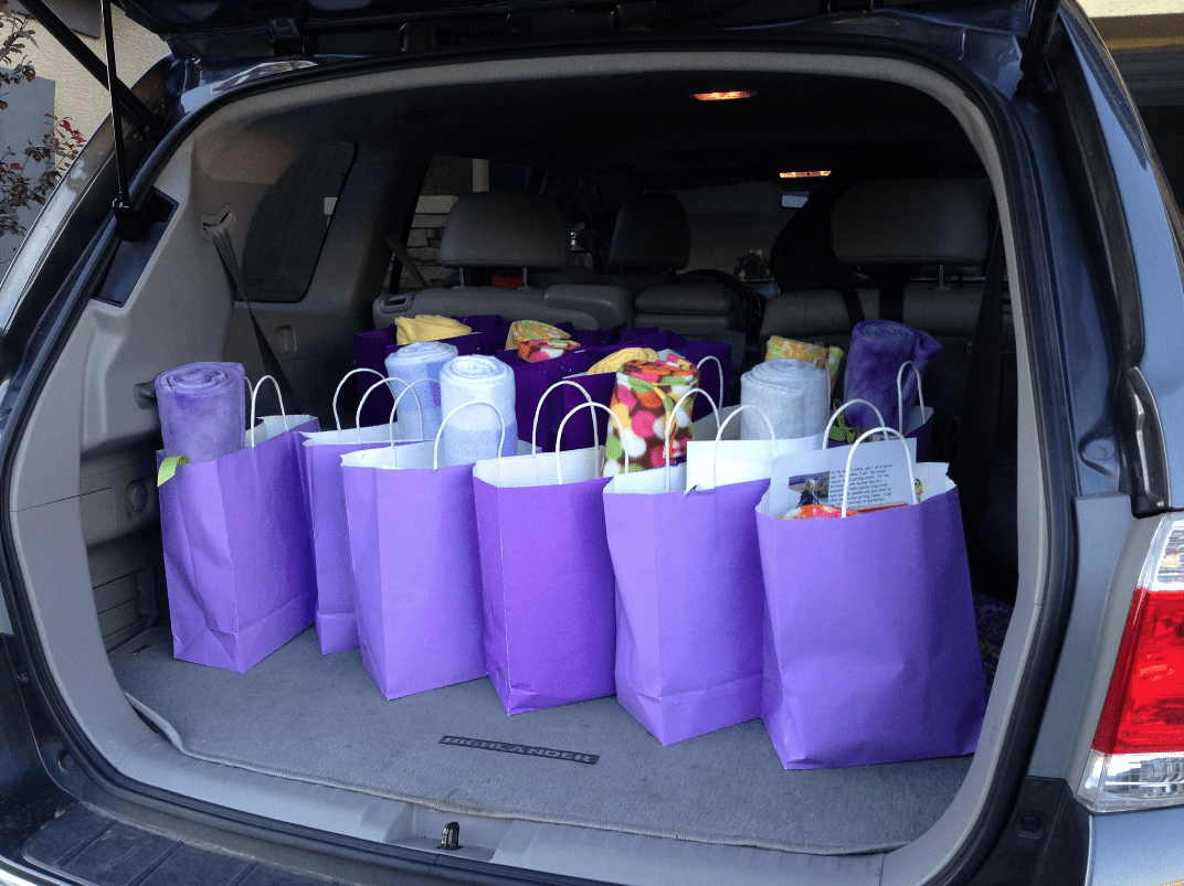 Abby's Purple Bag Project: Teaching Our Children To Serve Others 4