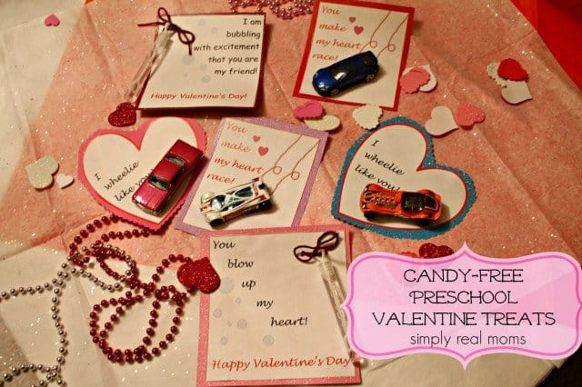 Candy free valentine day treats