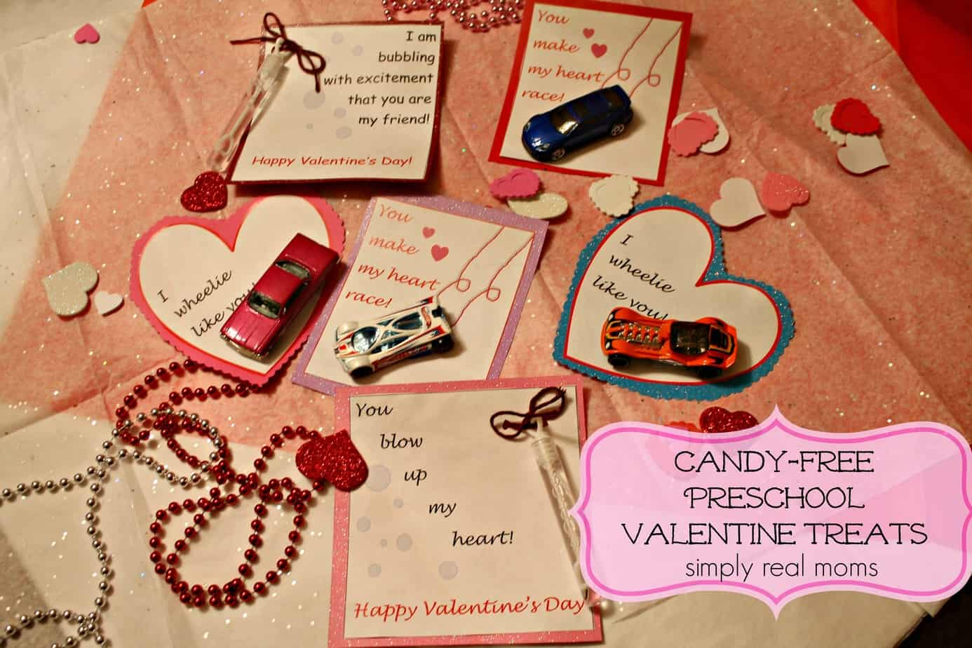 CandyFree Preschool Valentine Treats – Candy Valentine Card
