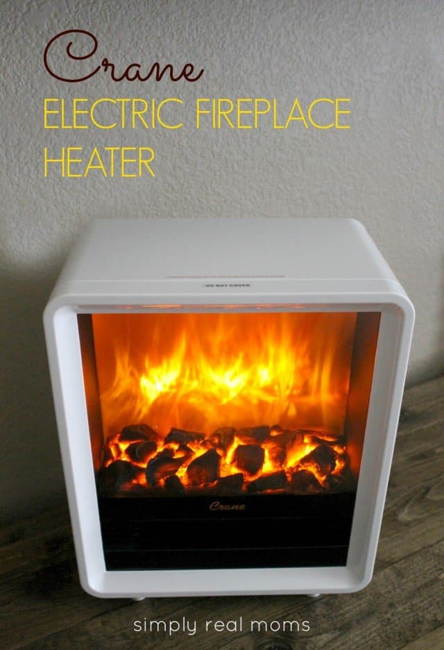 crane electric fireplace heater