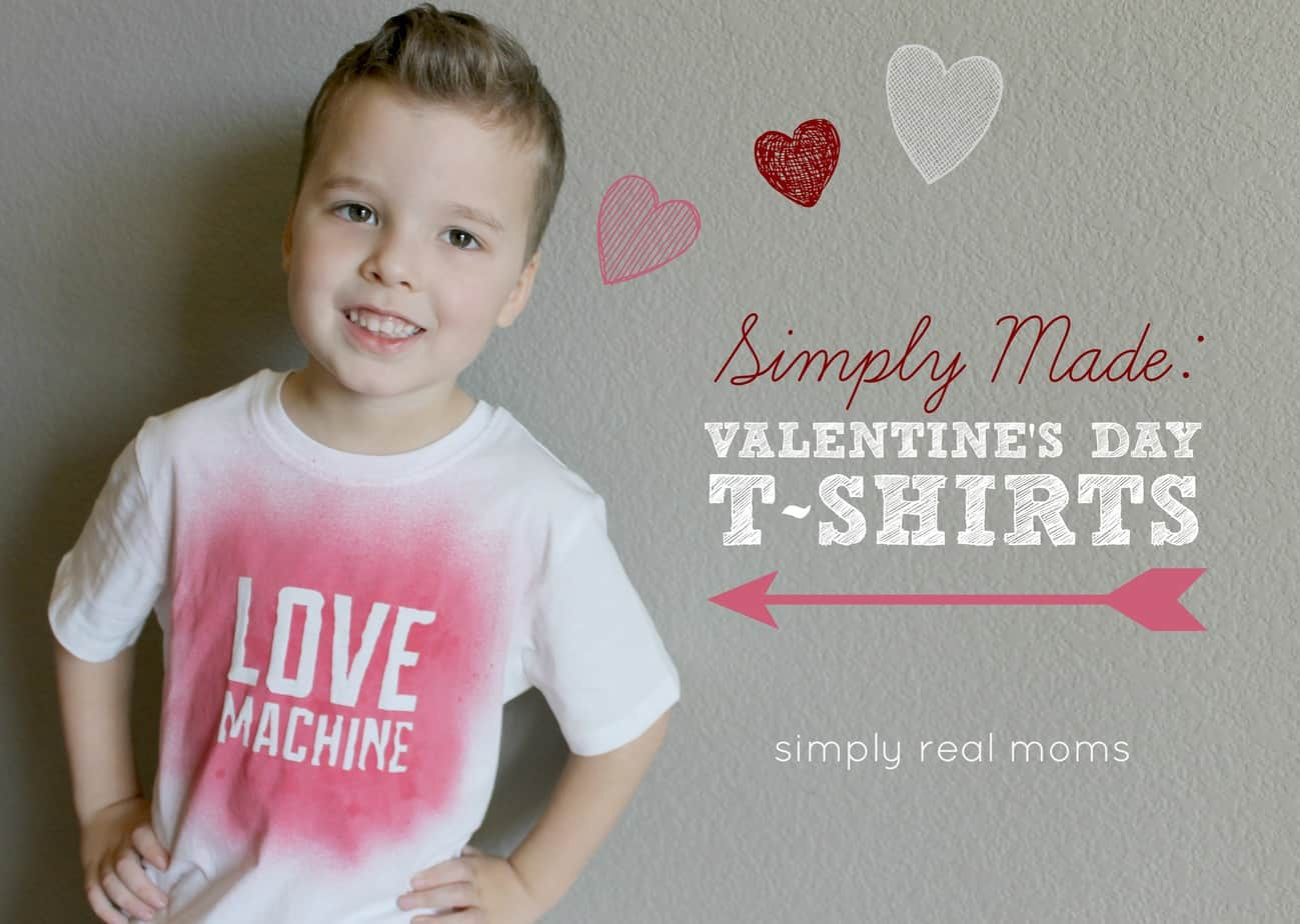 Simply Made Valentine S T Shirts Simply Real Moms