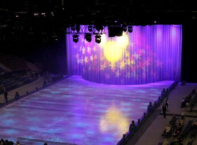 Disney on Ice rink