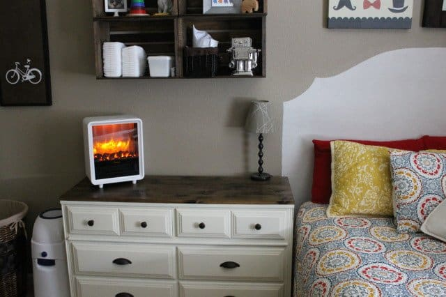 The Crane Fireplace Heater is the perfect way to heat any space in a stylish