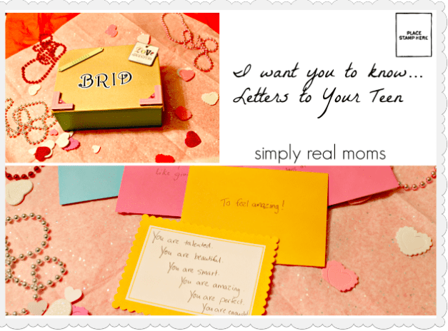 I Want You to Know...Letters to Your Teen 6