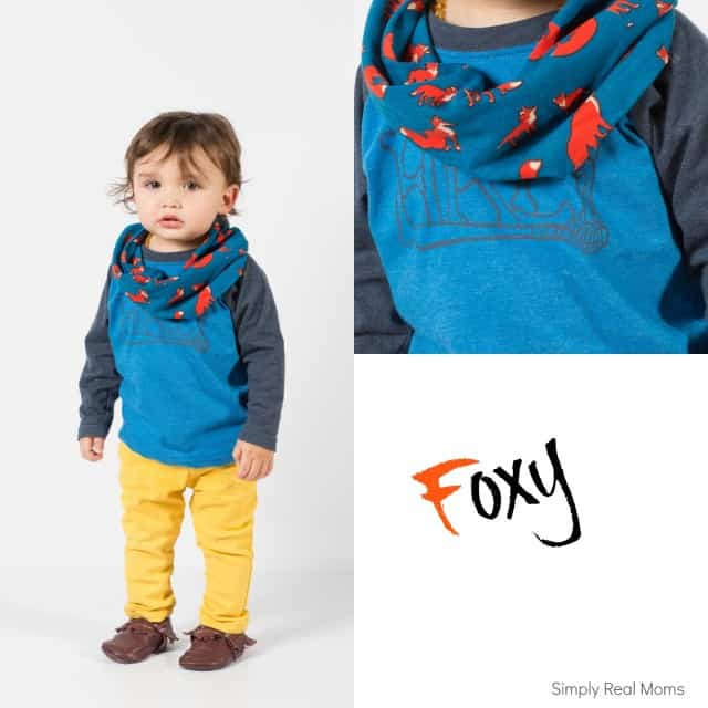 we stitchery fox scarf