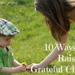 10 Ways to Raise a Grateful Child 150x150 DoodleBox Art $50 Gift Certificate Giveaway!