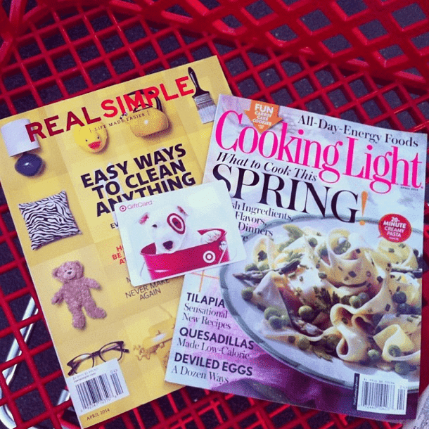 Cooking Light and Real Simple Gift Card Deal