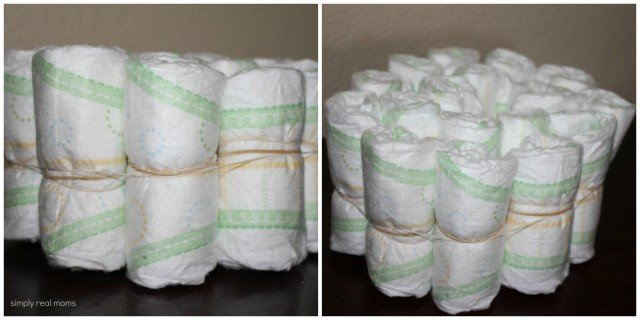 Diaper Cake Layer Details