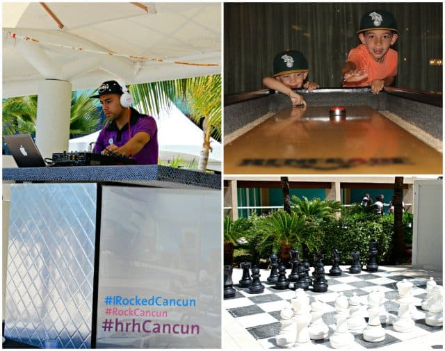 Fun at the HRH Cancun