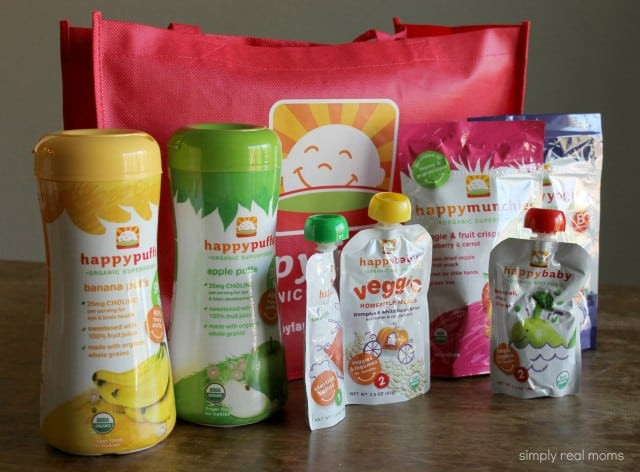 Happy Baby Foods Baby Pack
