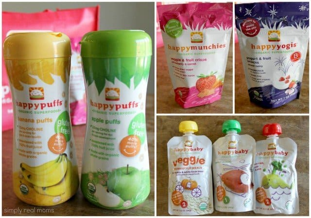 Happy Baby Foods Giveaway