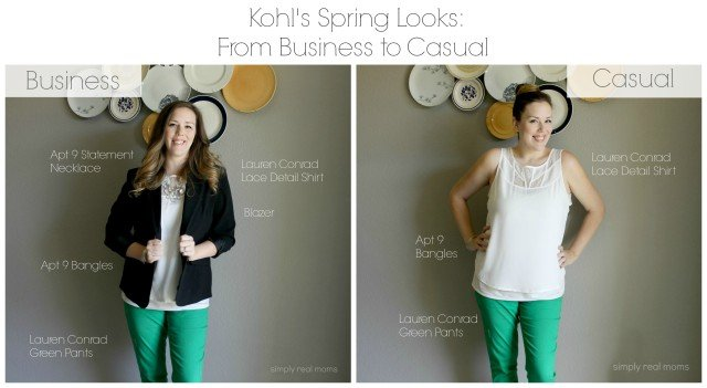 Kohls Spring Business to Casual