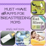 Must Have Free Apps for Breastfeeding Moms!