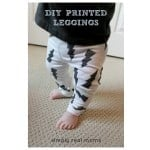 Simply Made: DIY Printed Leggings