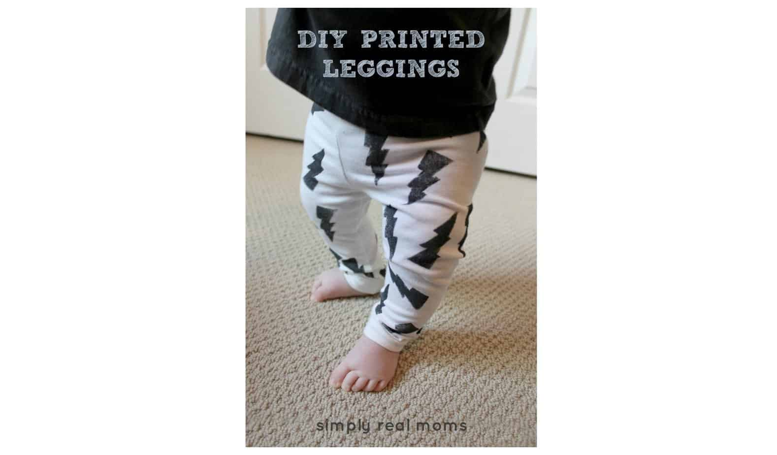 Simply Made: DIY Printed Leggings 7