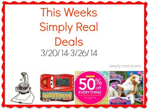Simply Real Deals  3/20/14-3/26/14 1