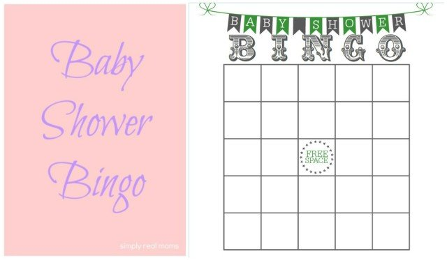 Baby Shower Bingo.