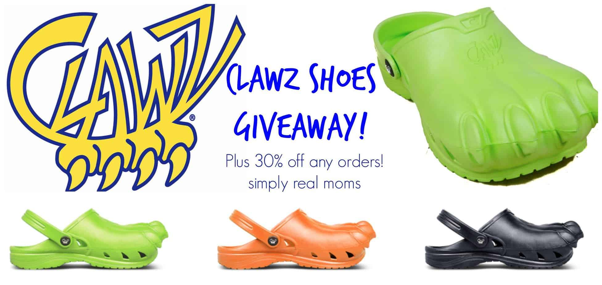 Clawz Shoes Giveaway!