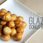 Glazed Donut Holes 640x4261 150x150 25 Days of Holiday Treats: Strawberry Santa Hats