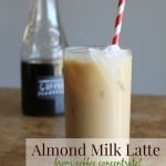 Almond Milk Latte 150x150 Grape cicles