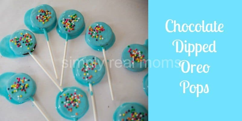 Chocolate Dipped Oreo Pops 6