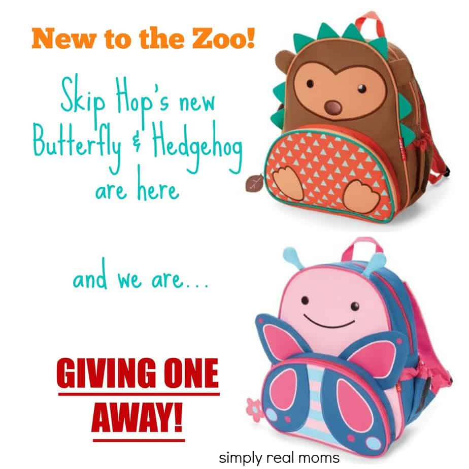 "Skip Hop's ""New to the Zoo"" Butterfly and Hedgehog Giveaway 1"