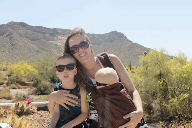 Family Trip in Usery Mtn Park