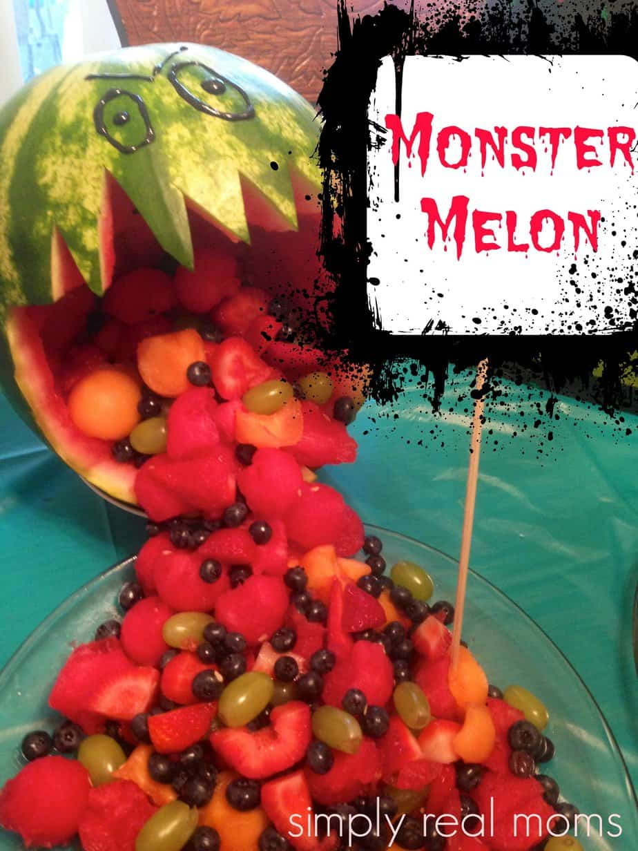 Monster Melon Fruit Salad 1