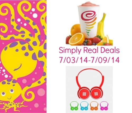 Simply Real Deals- Ready for Summer 7/03/14-7/09/14 10