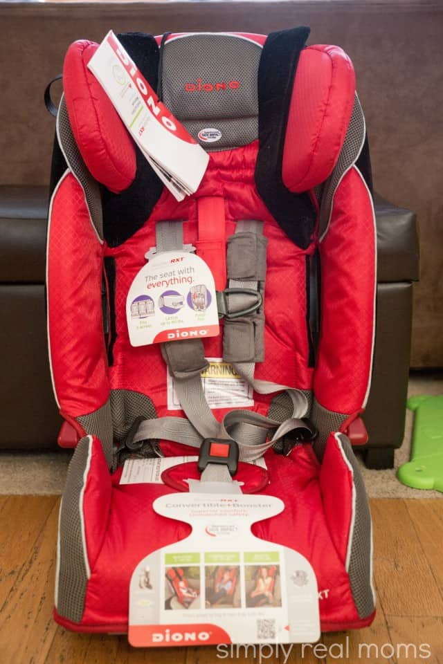 Booster Car Seat With Five Point Harness